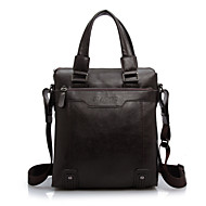 Men PU Formal / Wedding / Office & Career / Professioanl Use Shoulder Bag / Tote / Boarding Case/Cabin Case Brown / Black / Khaki