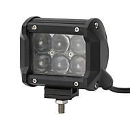 4x 30W LED arbeidet lys bar terreng 12v 24v atv sted terreng for truck 4x4 utv