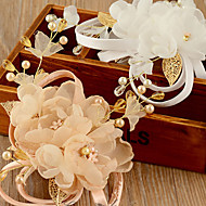 Dam Organza Headpiece-Bröllop / Speciellt Tillfälle Blommor 1 st.