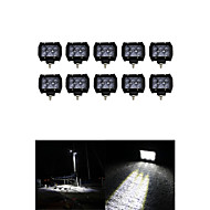 10x 30W OSRAM LED Work Light Bar Offroad 12V 24V ATV SPOT Offroad for  Truck 4x4 UTV