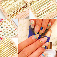 - Finger / Zehe - 3D Nails Nagelaufkleber - Andere - 6 Stück - 10.5X7X0.6 cm