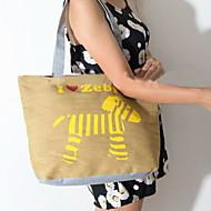 Fashion Women Canvas Print Shopper Shoulder Bag / Tote /Mummy Bag