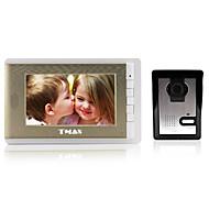 """tmax® 7 """"videó kaputelefon csengő kaputelefon rendszer 500tvl éjjellátó kamera"""