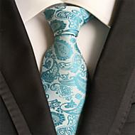 Vzor - Kravata ( Světle modrá , Polyester )