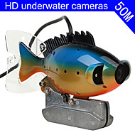 Fish Finder   Underwater Camera  50m Cable  CCD Color Camera Underwater Video Fishing Camera 3W LED
