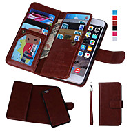 Magnetic 2 in 1 Wallet Leather+9 Card Holder+Photo Frame Case for iPhone 7 7 Plus 6s 6 Plus 5SE 5S 5