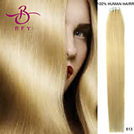 tape in human hair extensions # 613 licht blond kleur 20st remy brazilian virgin straight huid inslag hair extensions