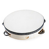 6 tommer tamburin til børn (3--6 år)