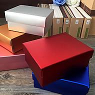Geschenk Schachteln ( Gold / Lila / Silver / Rot / Blau , Kartonpapier ) - Nicht personalisiert -Hochzeit / Jubliläum / Brautparty /