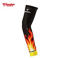 braço aquecedores Moto Respirável / Secagem Rápida / Resistente Raios Ultravioleta / Compressão Unissexo Preto Terylene