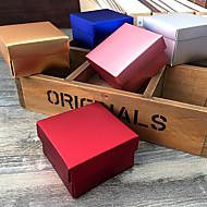 Geschenk Schachteln ( Gold / Silver / Rosa / Rot / Blau , Kartonpapier ) - Nicht personalisiert -Hochzeit / Jubliläum / Brautparty /