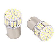 1156 / ba15s 5W 50 smd λευκό led για το φως τιμόνι αυτοκινήτου / backup / φως φρένων (DC12V, 4τεμ)