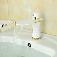American Standard Centerset Single Handle One Hole in Ti-PVD Bathroom Sink Faucet