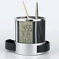 multifunksjonelle trådnett klokke kalender penn