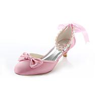 בלרינה\עקבים - נשים - נעלי חתונה - עקבים / מעוגל - חתונה / שמלה / מסיבה וערב - ורוד