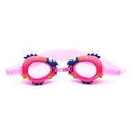 Óculos de Natação Anti-Nevoeiro Prova-de-Água Gel Silica PC Vermelho Rosa Azul Azul Escuro Vermelho Rosa Azul Azul Escuro