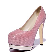 Women's Shoes Leatherette Stiletto Heel Heels Heels Wedding / Office & Career / Party