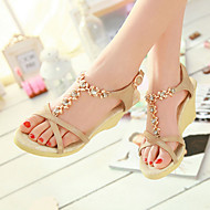 Women's Shoes  Heel Wedges / Peep Toe / Platform Sandals / Heels Outdoor / Dress / CasualBlue / Pink / Silver /Q15