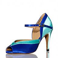 Sapatos de Dança ( Preto / Azul / Marrom / Amarelo / Verde / Rosa / Roxo / Vermelho / Branco / Prateado / Cinza / Dourado ) - Feminino -
