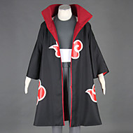 Inspired by Naruto Kakuzu Anime Cosplay Costumes Cosplay Suits Patchwork Black Cloak / Vest / Pants / Headpiece / Hat / Belt