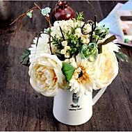 Seda Rosas / Margaridas / Fruta Flores artificiais