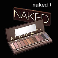 1Pcs Sales Of 12 Colors Earth Nude Make-Up NK Generation Silty Eye Shadow Exquisite Natural Nude Make-Up