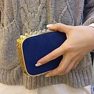 Bolso de Mano / Bolso de Noche - Bolso de Mano Casual - Metal - Azul - Mujer