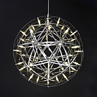 Lampe suspendue ,  Contemporain Plaqué Fonctionnalité for LED Métal Salle de séjour Chambre à coucher Salle à manger