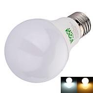 9W E26/E27 Lâmpada Redonda LED A60(A19) 22 SMD 2835 800 lm Branco Quente / Branco Frio Decorativa AC 100-240 V 1 pç