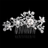 새로운 머리 한국어 진주 다이아몬드 신부의 머리 장식 꽃 euramerican 인기는 역할 ofing가 맛되는 역할을 빗질