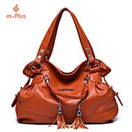 M.Plus® Women's Casual Tassel PU Leather Messenger Shoulder Bag/Tote