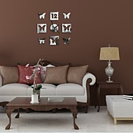 Κυκλικό Μοντέρνο/Σύγχρονο / Καθημερινά / Γραφείο/Επιχείρηση Ρολόι τοίχου,Διακοπών / Σπίτια / Εμπνευστικό / Γενέθλια / Γάμος / Οικογένεια