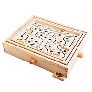 houten doolhof spel voor kinderen (3-6 jaar)