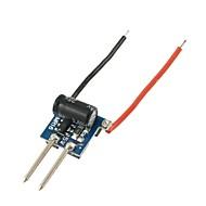 10pcs 3x1W dimmable LED driver 12v iluminação MR16 transformersfor motorista MR16 lâmpada copo 1W lâmpada talão (12-22v 300mA)