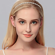 Women's Rhinestone Headpiece-Wedding Special Occasion Casual Office & Career Outdoor Tiaras 1 Piece