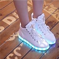 נעלי נשים - סניקרס אופנתיים - סינטתי - נוחות - # 1 / 2 # - שטח / קז'ואל / ספורט / מסיבה וערב / Work & Duty - עקב שטוח