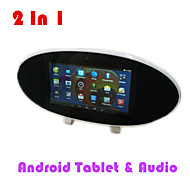 Android 4.4 1G + 8g 2in1 intelligenti lettore multimediale J100 TV Bluetooth Bluetooth 4.0 WiFi USB host, tf hdmi fotocamera da 2.0 MP