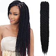 #1 Havanna Twist Braids Haarverlängerungen 12-24inch Kanekalon 2 Strand 80g/pcs Gramm Haar Borten