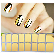Autocolantes de Unhas 3D-Abstracto- paraDedo- dePVC- com1pcs full cover adhesive nail sticker-14tips stickers
