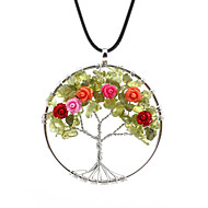 Hot lava round the tree of life, Ms. necklace handmade necklace wrapped preparation