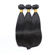 Człowieka splotów włosów Włosy malezyjskie Düz 3 elementy sploty włosów