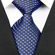 עניבה-מנוקד(שחור / כחול,פוליאסטר)