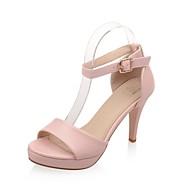 Women's Shoes Stiletto Heels/Platform/Sling back/Open Toe Sandals Party & Evening/Dress Black/Pink/White