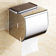 WC-Rollenhalter Chrom Wandmontage 13*23*18cm Edelstahl Modern