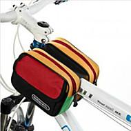 ROSWHEEL® Cykeltaske 5LLTaske til stangen på cyklen Vandtæt Regn-sikker Stødsikker Påførelig Cykeltaske Nylon Vandtæt Materiale Terylene