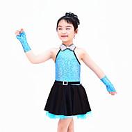 Jazz Dance Dancewear Adults' Children's Sequin Jazz Dress Kids Dance Costumes