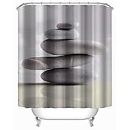 "Cortina de baño-Moderno- dePoliéster-W71""×L71""(W180cm x L180cm)"