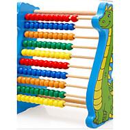 מסגרת חישוב פאזל צעצוע דינוזאור ילדים מעץ