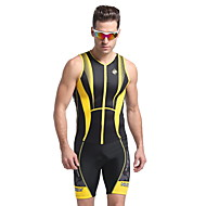 Nuckily Kısa Kol Bisiklet Yeleği Erkek Bisiklet Yelek triatlon FormaNefes Alabilir Anatomik Tasarım Ultravioleye Karşı Dayanıklı Nem