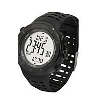 Men's Sport Watch Fashion Watch Wrist watch Quartz Water Resistant/Water Proof Silicone Band Black Brand
